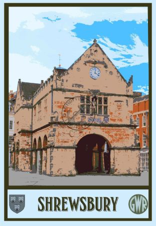 Shrewsbury Old Market Hall
